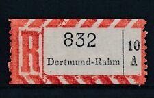 70860) Reco-Zettel AKZ 10A Dortmund - Rahm