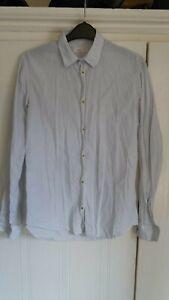 Folk Clothing. Women. Fine 100% cotton, pin-striped shirt. S. 10.
