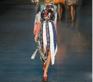 Women Shirt+Skirt 2021 Summer Runway Print Suits 2/PCS Luxury Tops Sets Vestidos