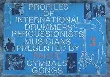 Paiste Profiles of International Drummers Percussionist Vol 3 - Cymbals Gongs