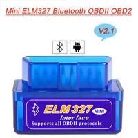 ELM327 V2.1 Bluetooth OBDII Car Diagnostic Tool OBD2 Interface Scanner Mini TOOL