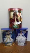 1990s Disney Holiday Princess Cinderella 16090 Snow White 19898 Belle 16710 NRFB