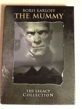The Mummy: The Legacy Collection (DVD, 2004, 2-Disc Set) RARE