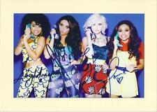 Little Mix (littlemix) Signed Autograph Photo Mounted Preprint, Size A4
