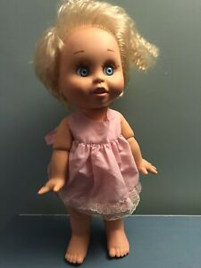 Vintage Galoob Baby Face Doll So Innocent Cynthia #7 Excellent Condition