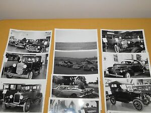"""VINTAGE 42  7"""" X 5"""" OLD CAR DESOTO CADILLAC ++ PHOTOS"""