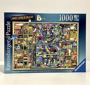 Ravensburger Jigsaw Puzzle Awesome Alphabet - Letter B - Colin Thompson 1000 Pce