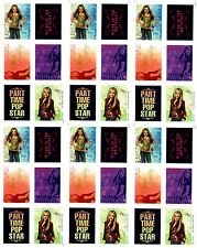 Disney 6 Sheets HANNAH MONTANA Scrapbook Stickers! POP ROCK star