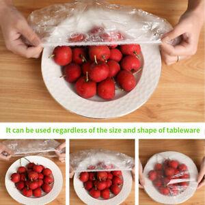 100Pcs Dustproof Disposable Bowl Cover Food Fresh Keeping Vacuum Sealed Bags