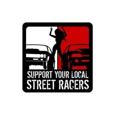 Farmtruck and Azn - Street Outlaws - Support Street Racers Decal