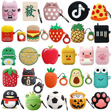3D Cute Animals Silicone Airpod Protective Case Cover Skin For Apple Airpods 1&2