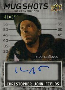 Upper Deck Alien 3 Auto Autograph Mug Shots Christopher John Fields