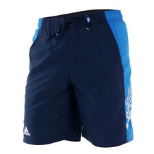 adidas Navy Sports Casual Shorts 100% Polyester Mesh Lining XS