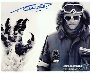 ROBERT WATTS signed Autogramm 20x25cm STAR WARS In Person autograph COA