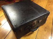 Vintage Black Suitcase