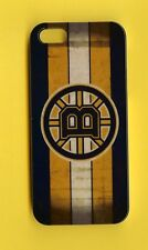 BOSTON BRUINS 1 Piece Glossy Case / Cover iPhone SE / 5 / 5S (Design 5)+Stylus