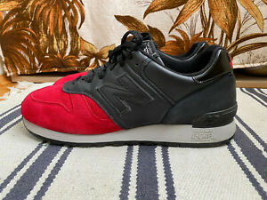 "New Balance 670 Red Devil ""Crank 2"" Size US12 RARE NB 670 England limited pack"