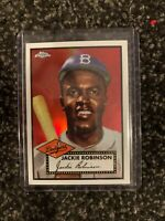 2019 Topps CHROME Jackie Robinson Iconic Rookie Reprint TGCR2 Target Exclusive