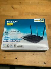 TP-Link TD-W8980 Wireless N600 Dual Band Gigabit ADSL2+ Modem/Router - Open Box