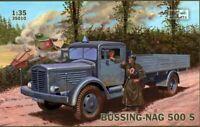 Maqueta de Vehiculo transporte BUSSING-NAG 5005 Kit para montar 1/35 IBG Models