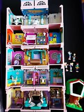Polly Pocket 1999 Dream Builders House Deluxe Mansion Figures Treehouse
