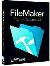 FileMaker Pro Advanced 18 ( MacOS + Windows) Full