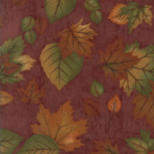 MODA Fabric ~ ENDANGERED SANCTUARY FLANNELS ~ Holly Taylor (6653 11F) by 1/2 yd
