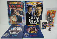DOCTOR WHO : KEY RING , TRADING CARDS, BOOKS & SMALL STANDEE BUNDLE (BP)