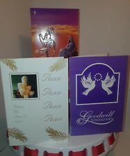 6 Christmas Cards - scripture with envelopes 3 designs Fantus Paper Products