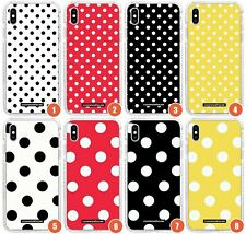 Designer Fashion Polka Dot Slim Impact Case for iPhone | Fashion Cute Trending G