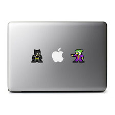 Retro Batman vs Joker 8-Bit Decal for MacBook Pro, DELL, iPhone 8 Plus, iPhone X