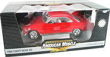 1966 Nova SS327 RED 1:18 Ertl American Muscle 33758