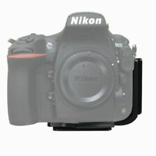 L-Bracket Quick Release QR Plate Grip Holder For Nikon D810 Camera Arca Swiss