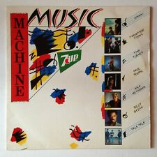 DISQUE 33T - LP COMPILATION POP - PROMO // MUSIC MACHINE - 7 UP