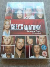 GREYS ANATOMY SEASON 4 EXPANDED DVD NEW AND SEALED