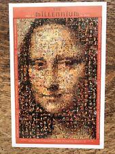 St Vincent Faces Of The Millennium, Mona Lisa, Minisheet MNH