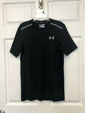 Underarmour Mens Tennis Golf Shirt HearGear Threadborne Center Xs $59.99