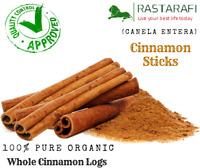 Rastarafi® Pure Organic Cinnamon Sticks | Premium Quality 2oz - 10lb Choose Size