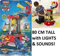 Paw Patrol MIGHTY PUPS TOWER + Lights & Sounds - 80 CM TALL AUSSIE STOCK