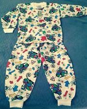 NWT 5 Donald Duck Cotton Thermal Underwear Long Johns Pajamas Boy/Girl