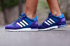 Adidas ZX 700 mujeres G95705 Negro Púrpura/PARA CORRER BLANCAS/Bluebird UK 7 EU 40 2/3