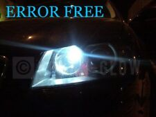 AUDI A3 A4 A6 A8 LED XENON ICE WHITE SIDE LIGHT BULBS CANBUS ERROR FREE S3 RS4