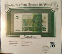 World Banknotes Netherlands 5 gulden 1973 P 95 UNC 4536