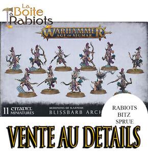 Warhammer age of sigmar Hedonite of slaanesh Blissbard archers Vente au détails