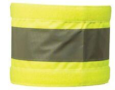 """Extra Large Reflective Hi Visibility Arm Band Yellow Armband 20"""" x 5"""" Hi Viz"""