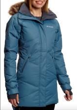 Columbia Womens M Medium Lay D Down Mid Jacket Omni Heat Warm Winter Coat
