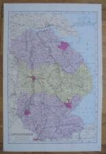 1884 Original Large Scale Map LINCOLNSHIRE G.W. Bacon