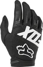 Fox Racing Dirtpaw Race Men's Full Finger Glove: Black MD