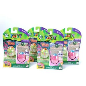 Lot Of 4 New LeapFrog RockIt Twist Dual Game Packs Fast Free Shipping