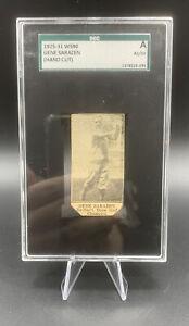 1925-31 W590 Hand Cut Gene Sarazen - SGC Authenticated Card - PGA Golf Champion